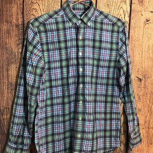 Men's Vineyard Vines Button Down Shirt Plaid XS